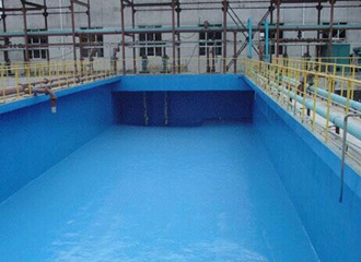 水池聚脲防水防腐施工