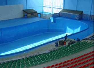 泳池聚脲防水喷涂