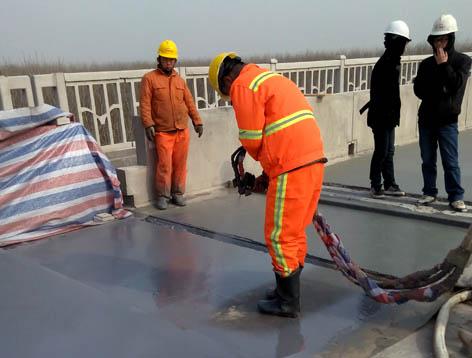 高铁混凝土桥面聚脲喷涂料防腐防水喷涂案例